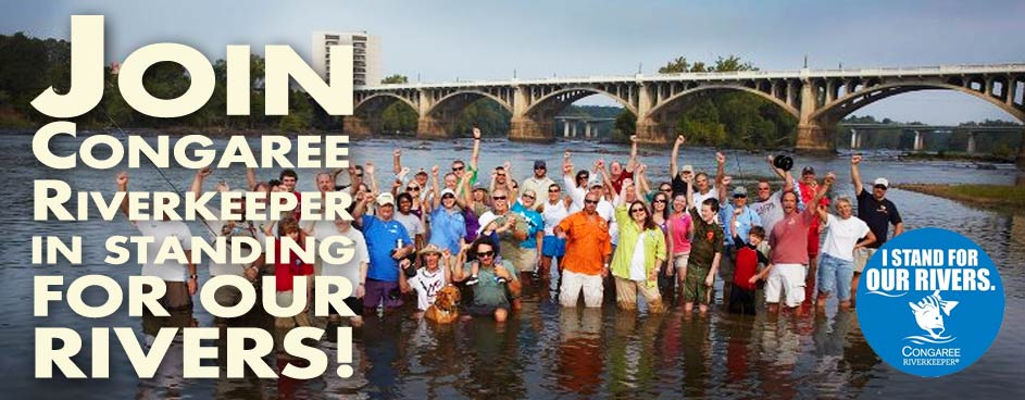 Congaree Riverkeeper protects the Broad Saluda and Congare Rivers